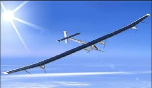 Discovery solar powered plane