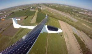 Sky-sailor solar plane