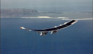 Pathfinder solar powered plane
