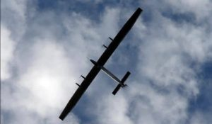 Solong Solar powered plane