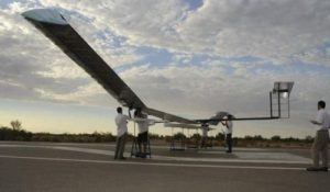 Zephyr uses traditional solar energy